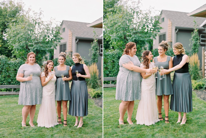 Calgary wedding photographers | fine art film | Justine Milton Photography | wedding inspiration | bridesmaids | pastel wedding inspiration