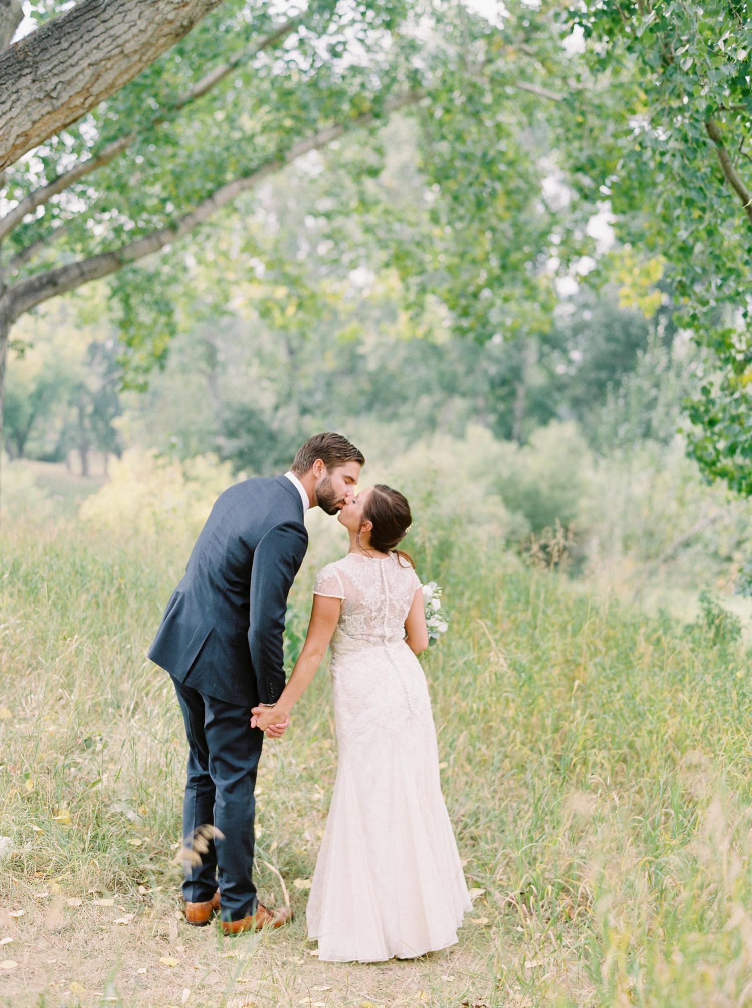Calgary wedding photographers | fine art film | Justine Milton Photography | wedding inspiration | wedding dress | bride and groom portraits
