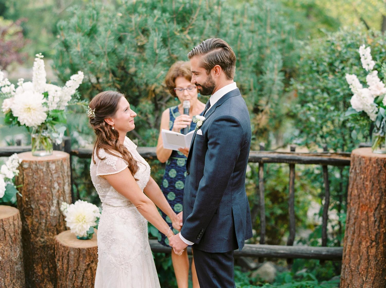 Calgary wedding photographers | fine art film | Justine Milton Photography | wedding inspiration | wedding chairs | wedding flowers | wedding ceremony | bride and groom