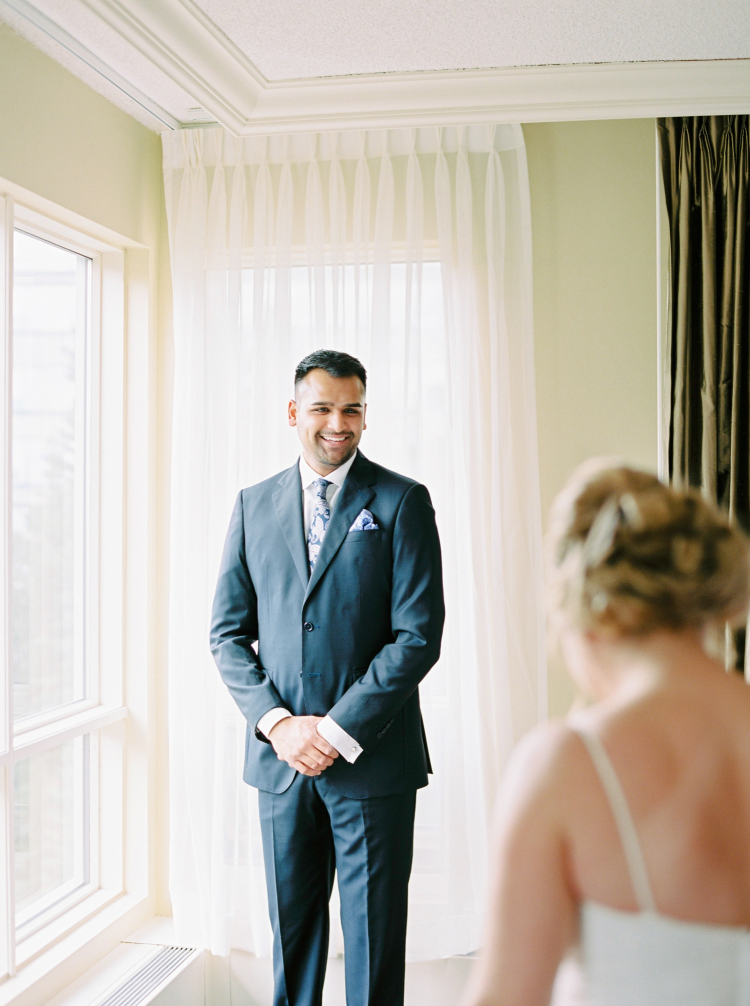 Calgary wedding photographers | banff wedding photographers | fine art film | Justine Milton Photography | wedding vows | elopement photographers | bride and groom