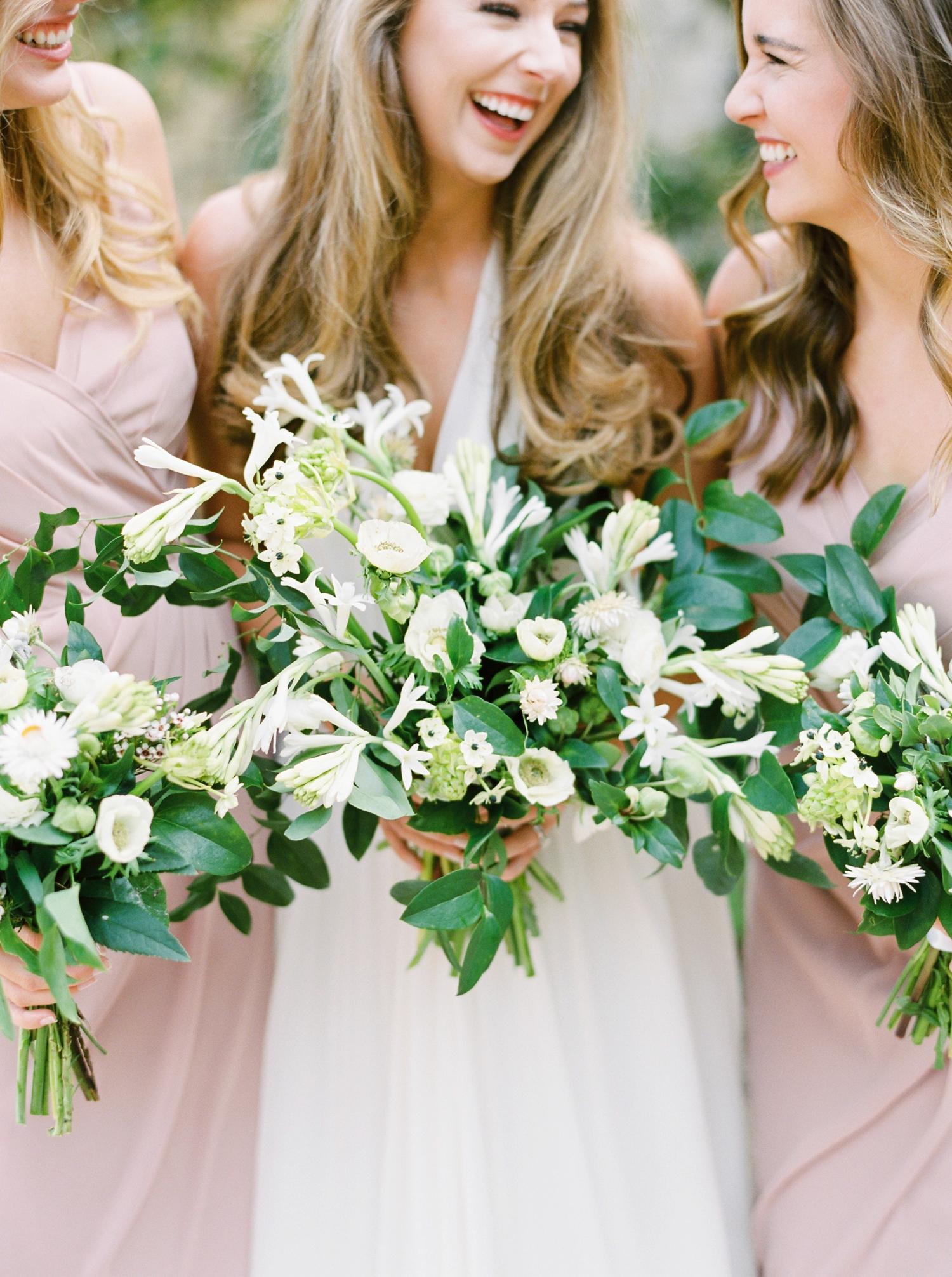 Calgary wedding photographers | georgia wedding photographers | fine art film | Justine Milton Photography | georgia wedding | wedding dress | pastel bouquet | pastel wedding | bridesmaids portraits
