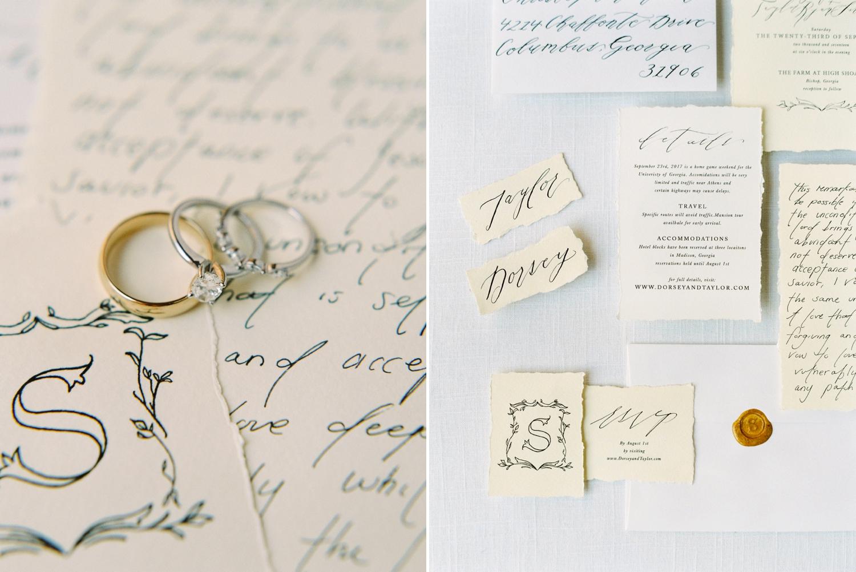 Calgary wedding photographers | georgia wedding photographers | fine art film | Justine Milton Photography | georgia wedding |  bride and groom portraits | wedding details | wedding rings