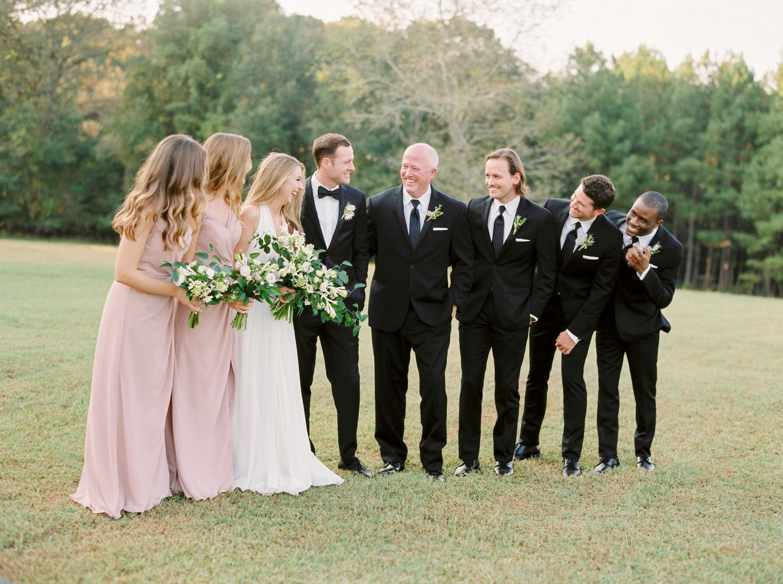 Calgary wedding photographers | georgia wedding photographers | fine art film | Justine Milton Photography | georgia wedding | bridesmaids | groomsmen | wedding party