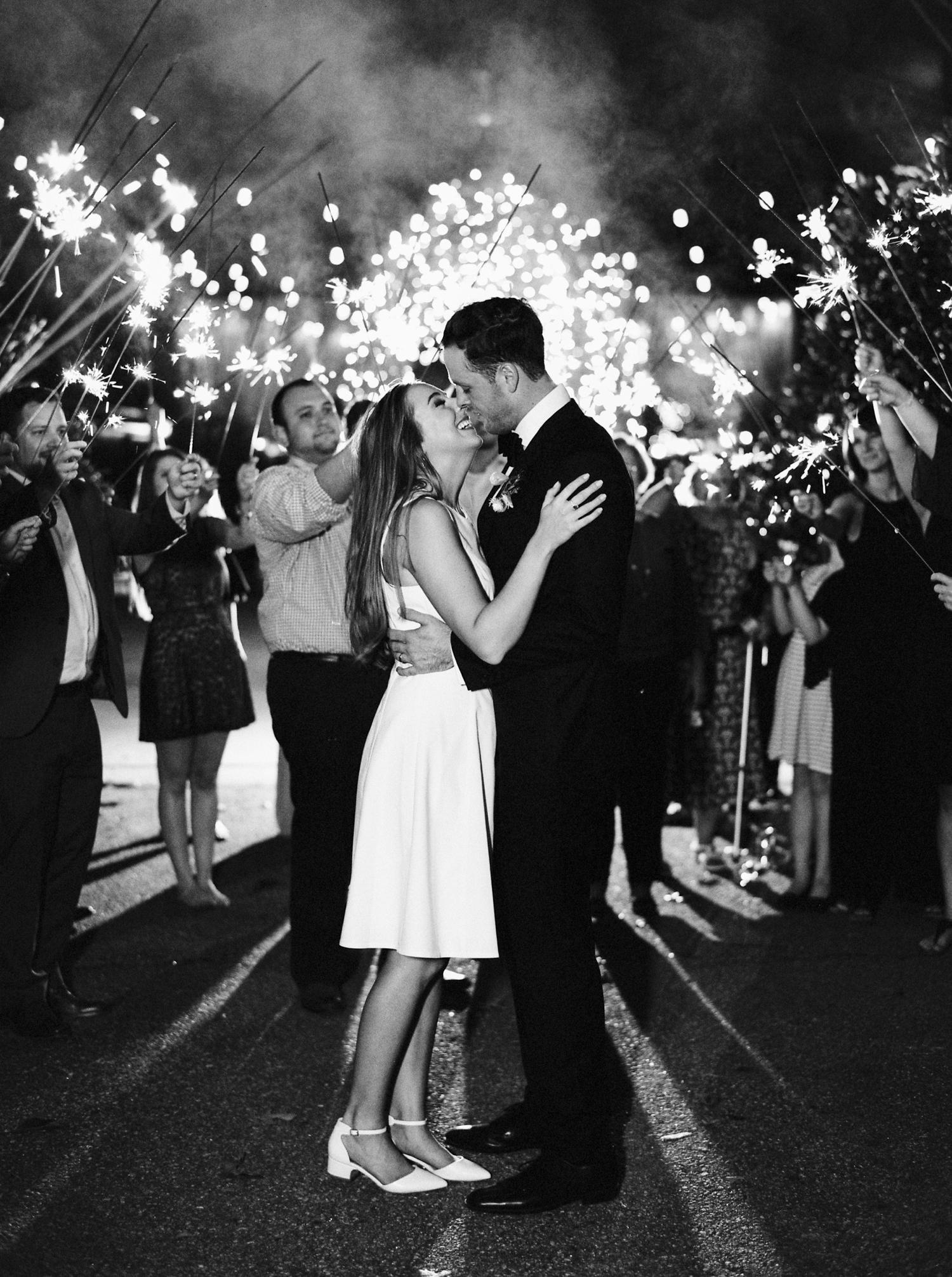 Calgary wedding photographers | georgia wedding photographers | fine art film | Justine Milton Photography | georgia wedding | first dance | bride and groom portraits | sparklers | wedding party