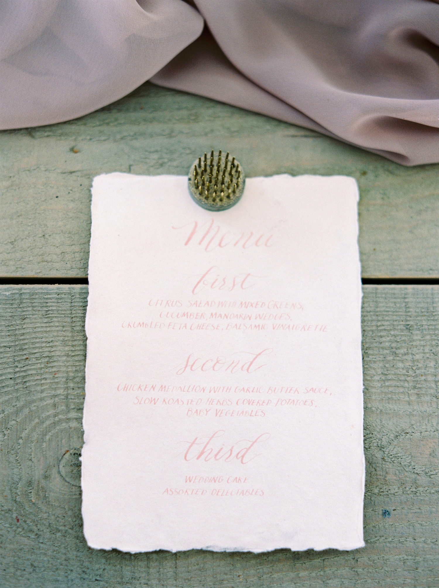 Calgary wedding photographers | fine art film | Justine Milton Photography | wedding details | editorial | wedding inspiration | wedding reception | wedding menu