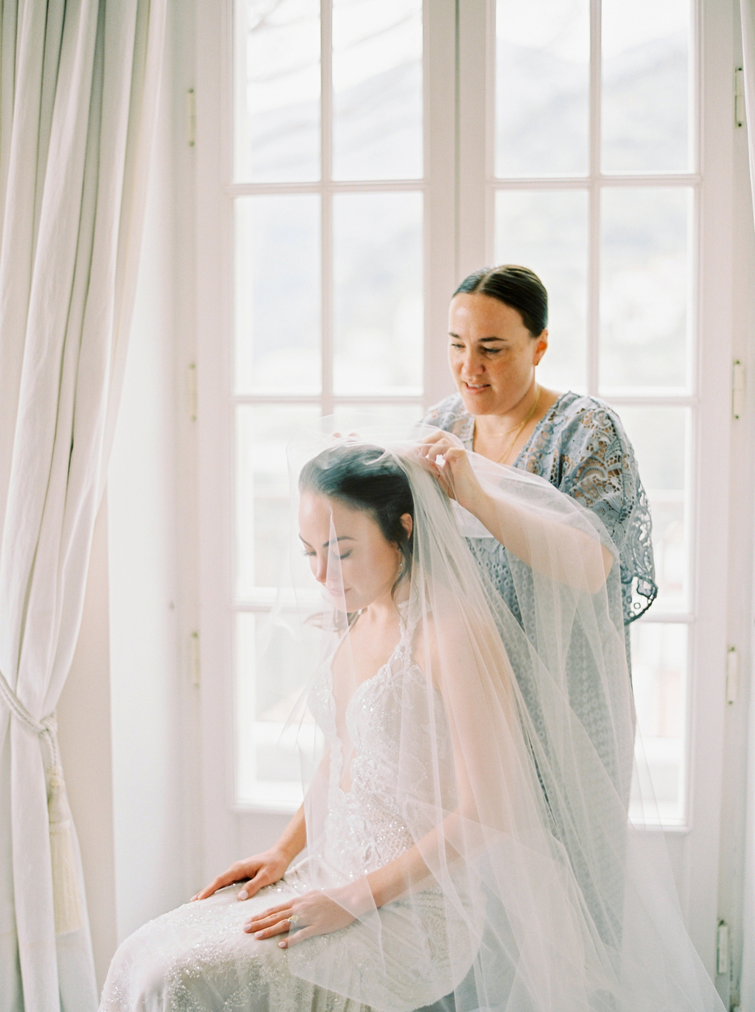 Ravello Italy Amafli Coast destination wedding photographers | english speaking wedding photographer in Italy | Justine Milton Photography | bride getting ready