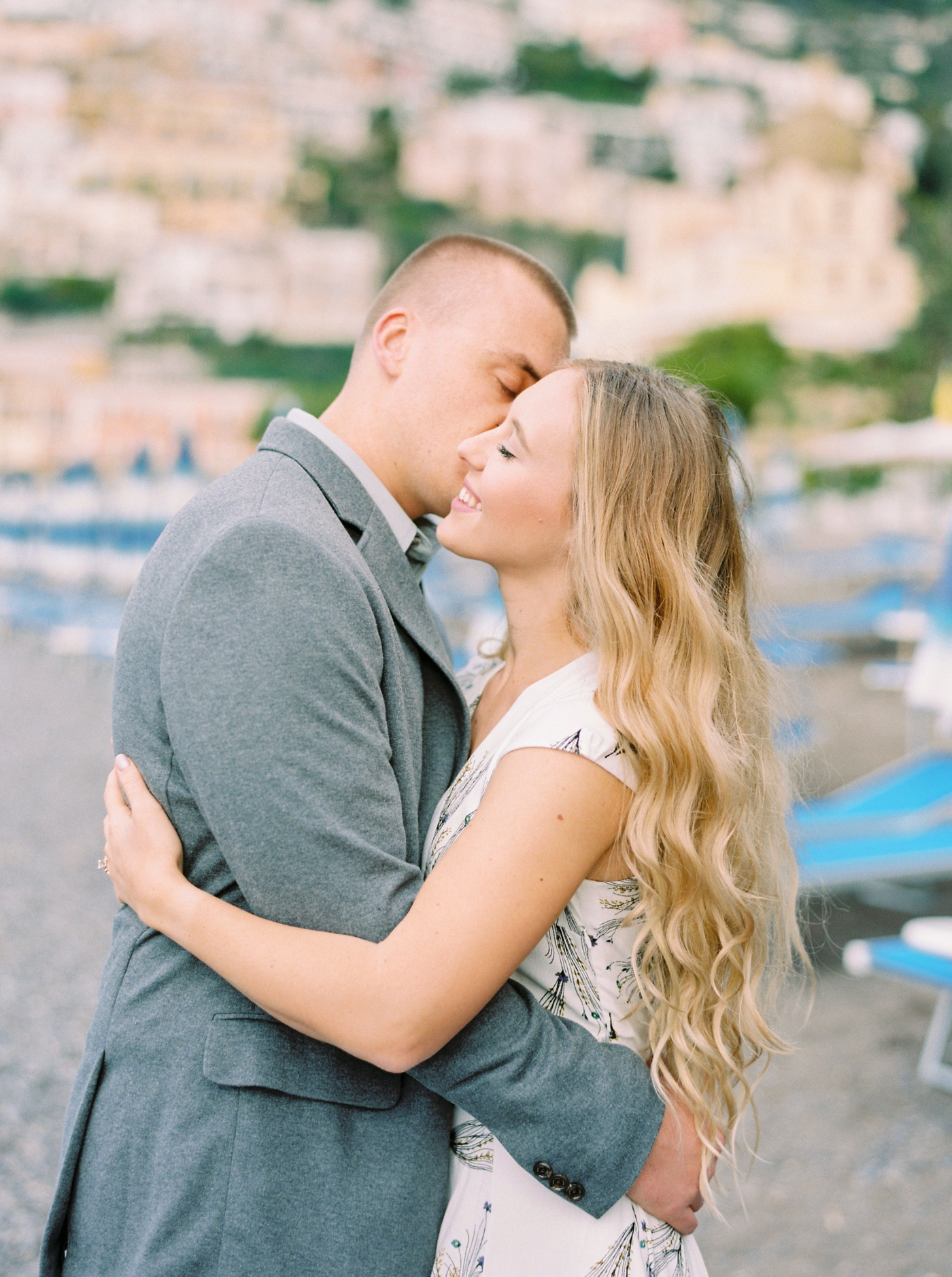 Positano Italy Wedding and couples photographer | Amalfi Coast destination Photographers | Justine Milton Photography | contax 645 film photo