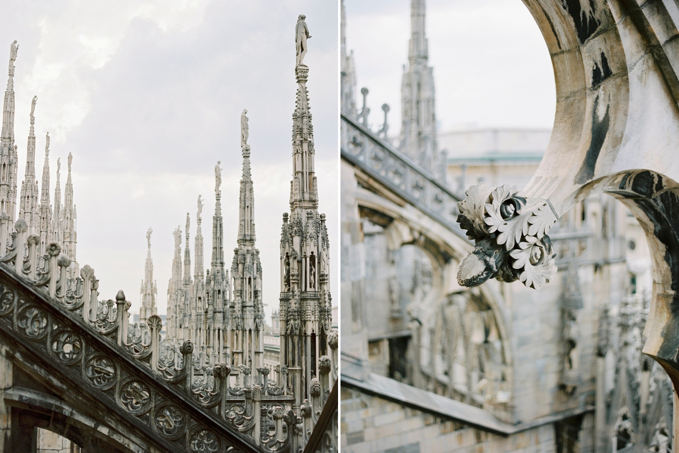 Fashion bloggers in Milan | italy wedding photographer justine milton | Duomo in Milan