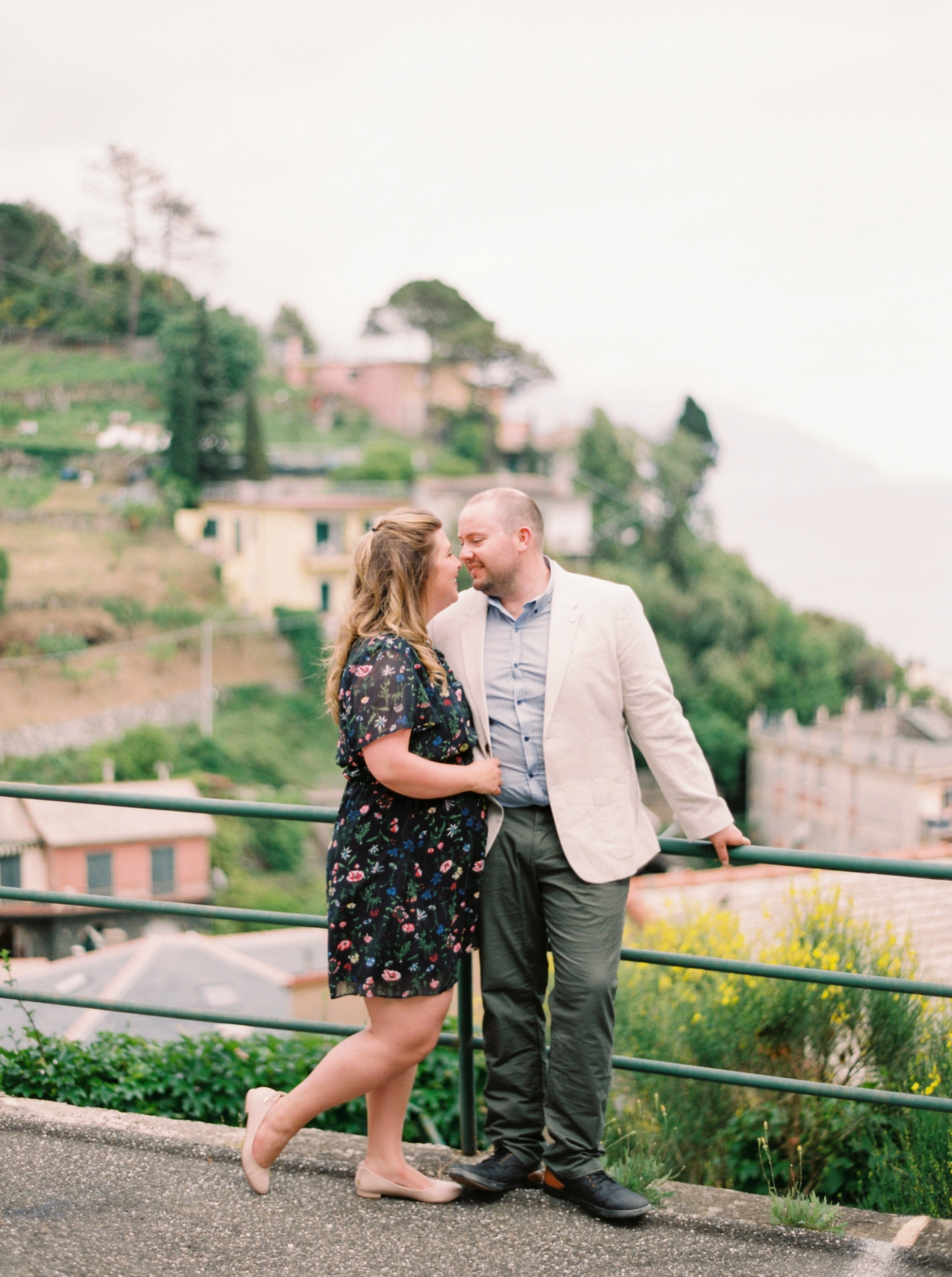 Cinque Terre couples anniversary session | destination pre wedding session italy photographers