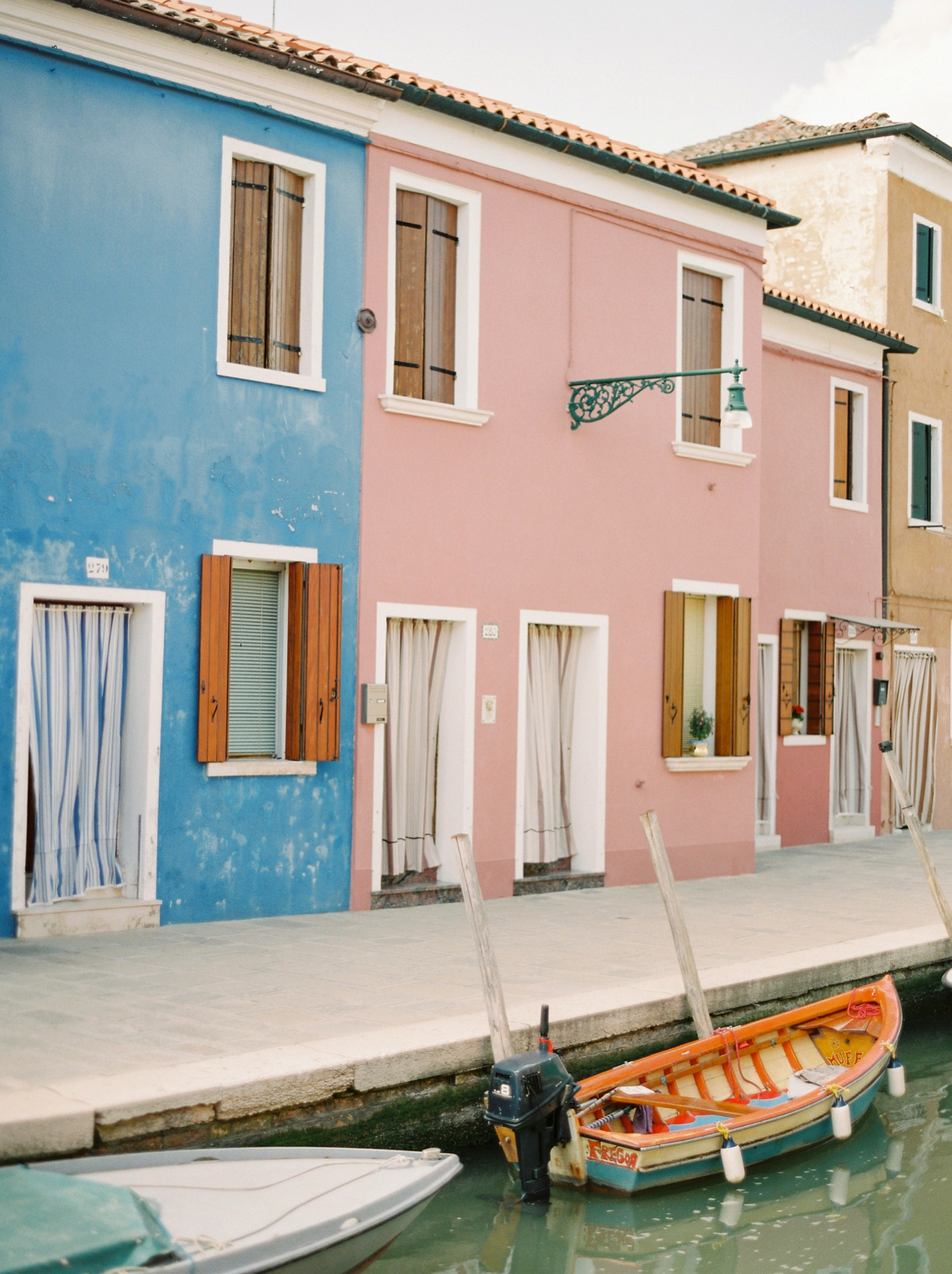 Burano Venice Italy Travel Photography | Justine Milton Fine Art Film Photographer