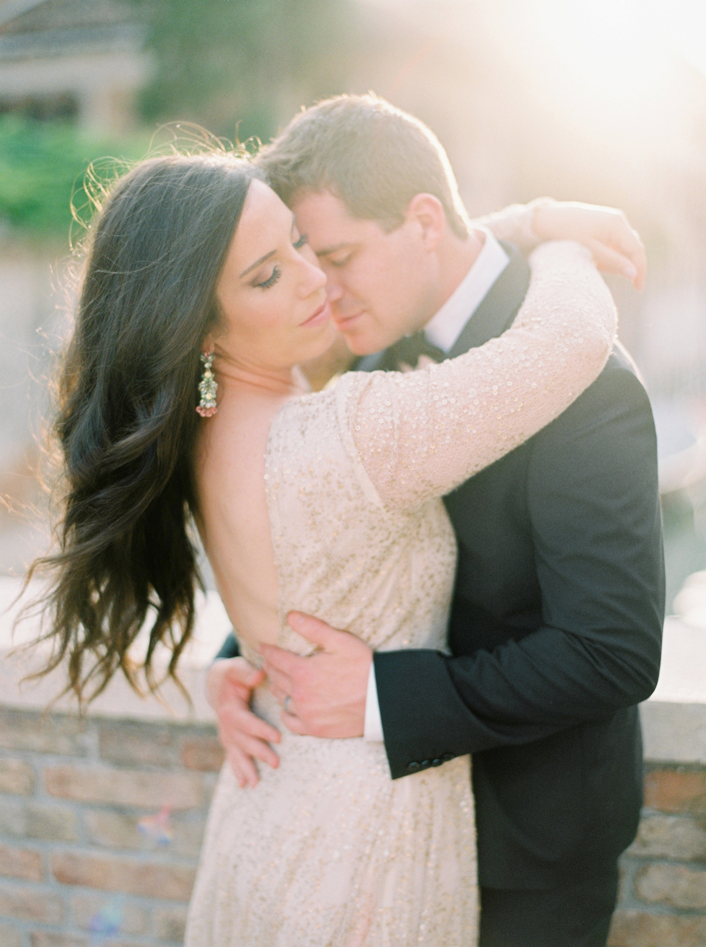 Venice italy wedding photographers | long sleeve wedding dress | italy vow renewal | justine milton fine art film photographer | bride and groom portraits in venice canals