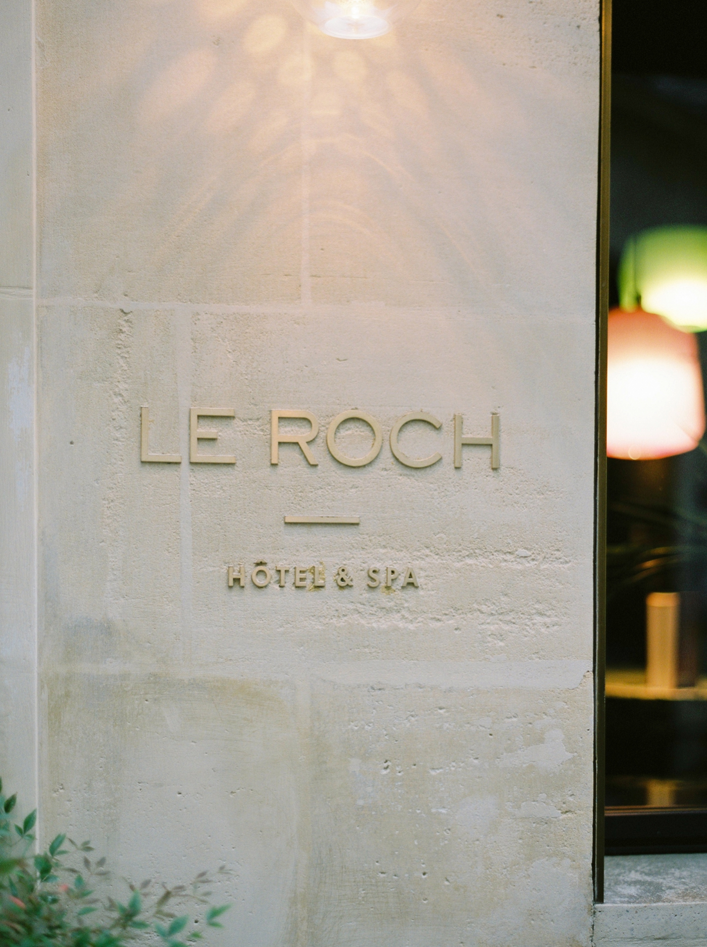 Le Roche Hotel Paris | Commercial and interior photographers | Justine milton film photographer