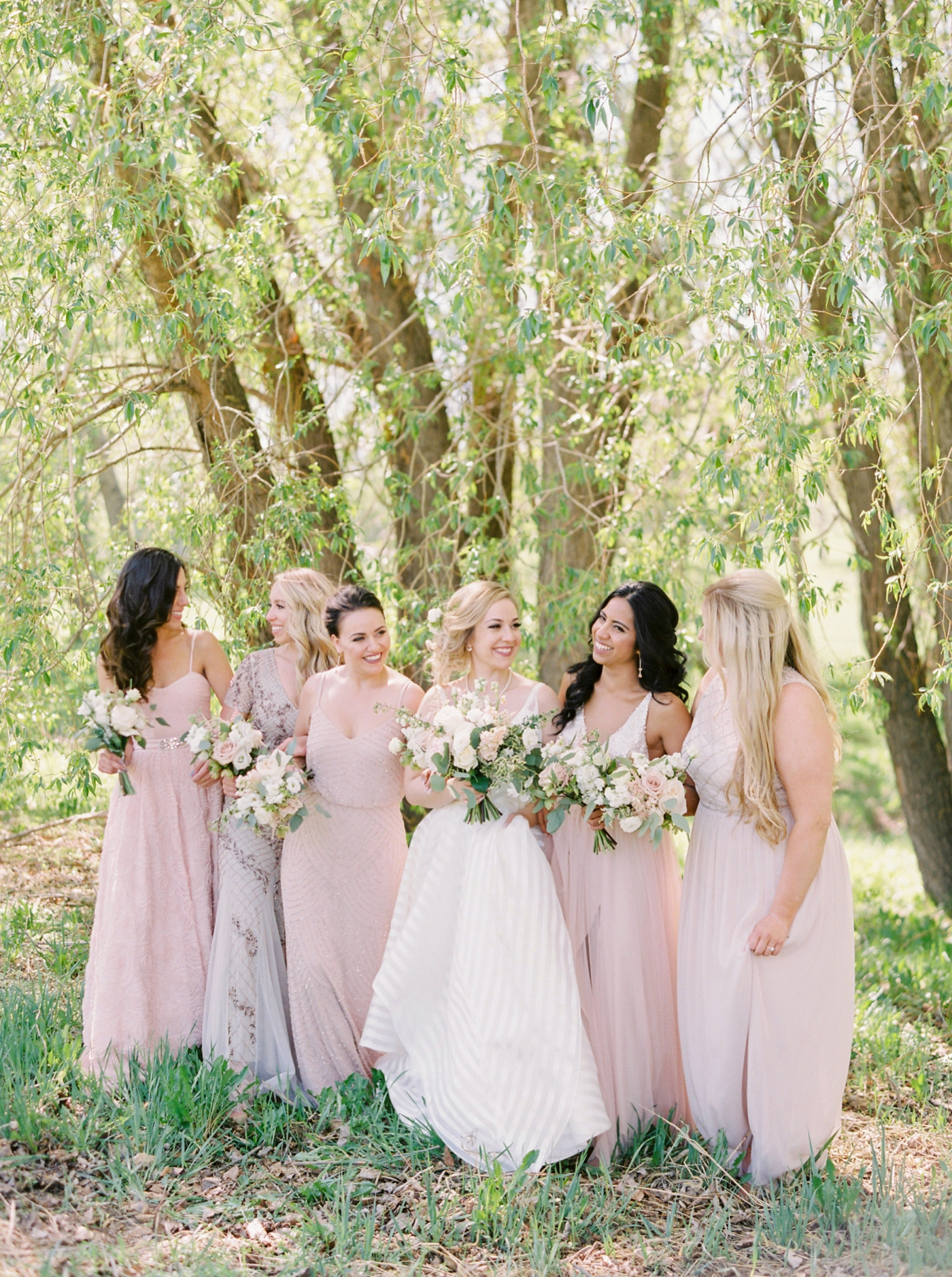 calgary wedding photographers | Ukrainian wedding | justine milton fine art photographer | bridesmaids