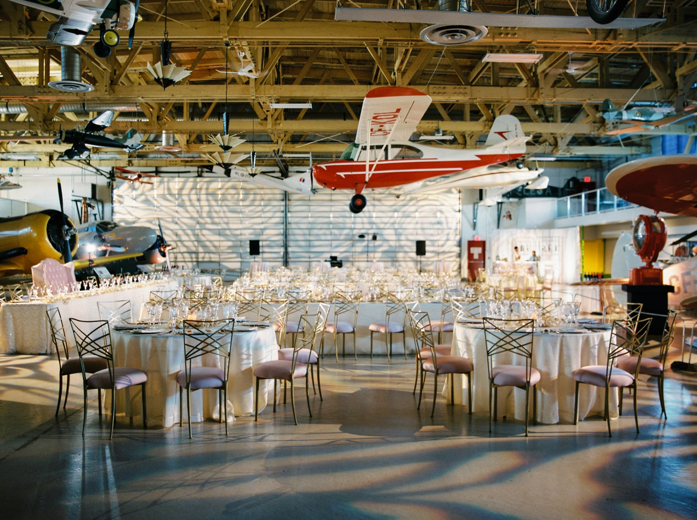 calgary wedding photographers | Ukrainian wedding | justine milton fine art photographer | wedding reception decor airplane museum julianne young weddings