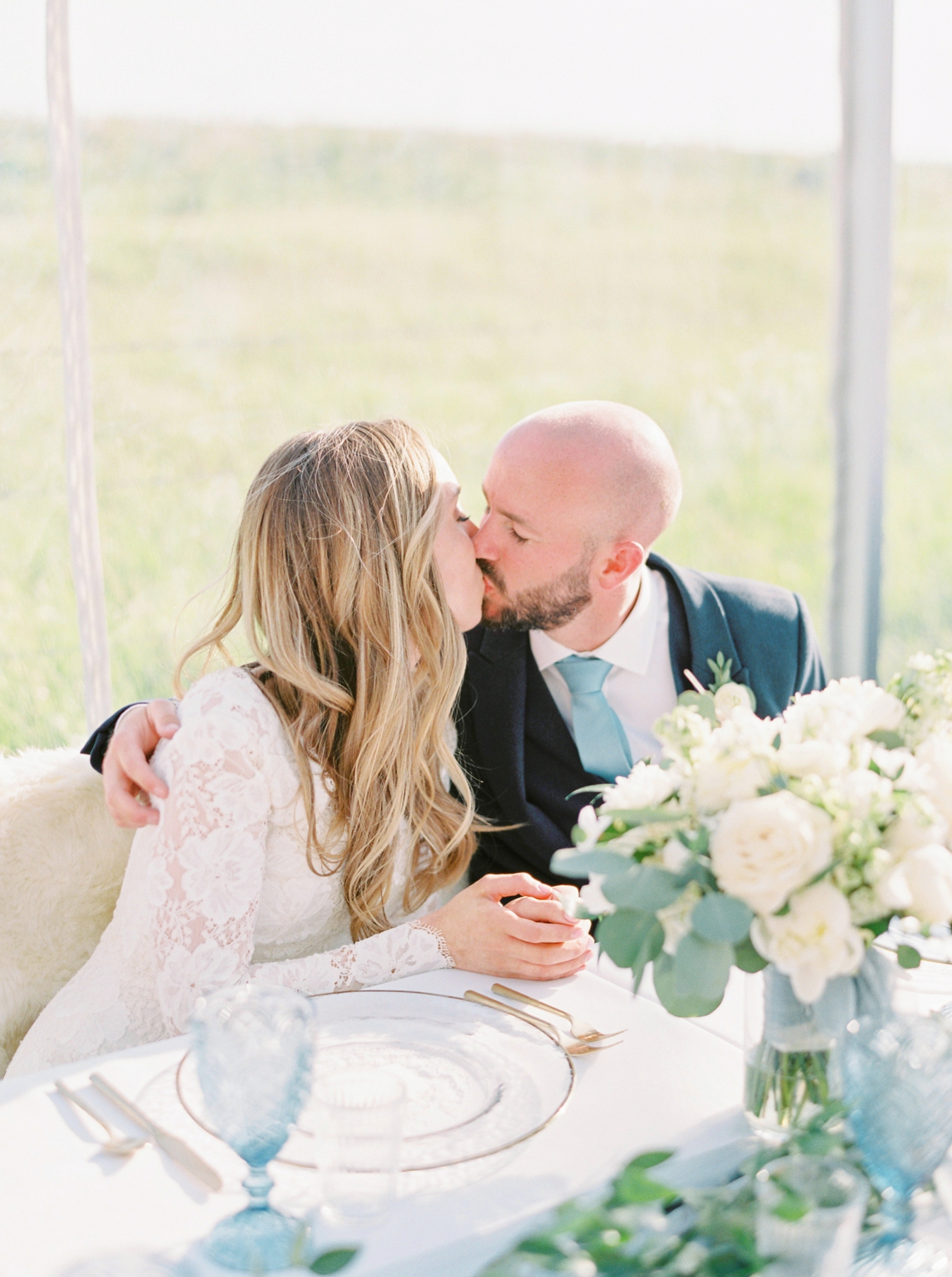 Calgary wedding photographers | The Gathered Farm Wedding | Justine milton fine art film photographer | reception candid speaches