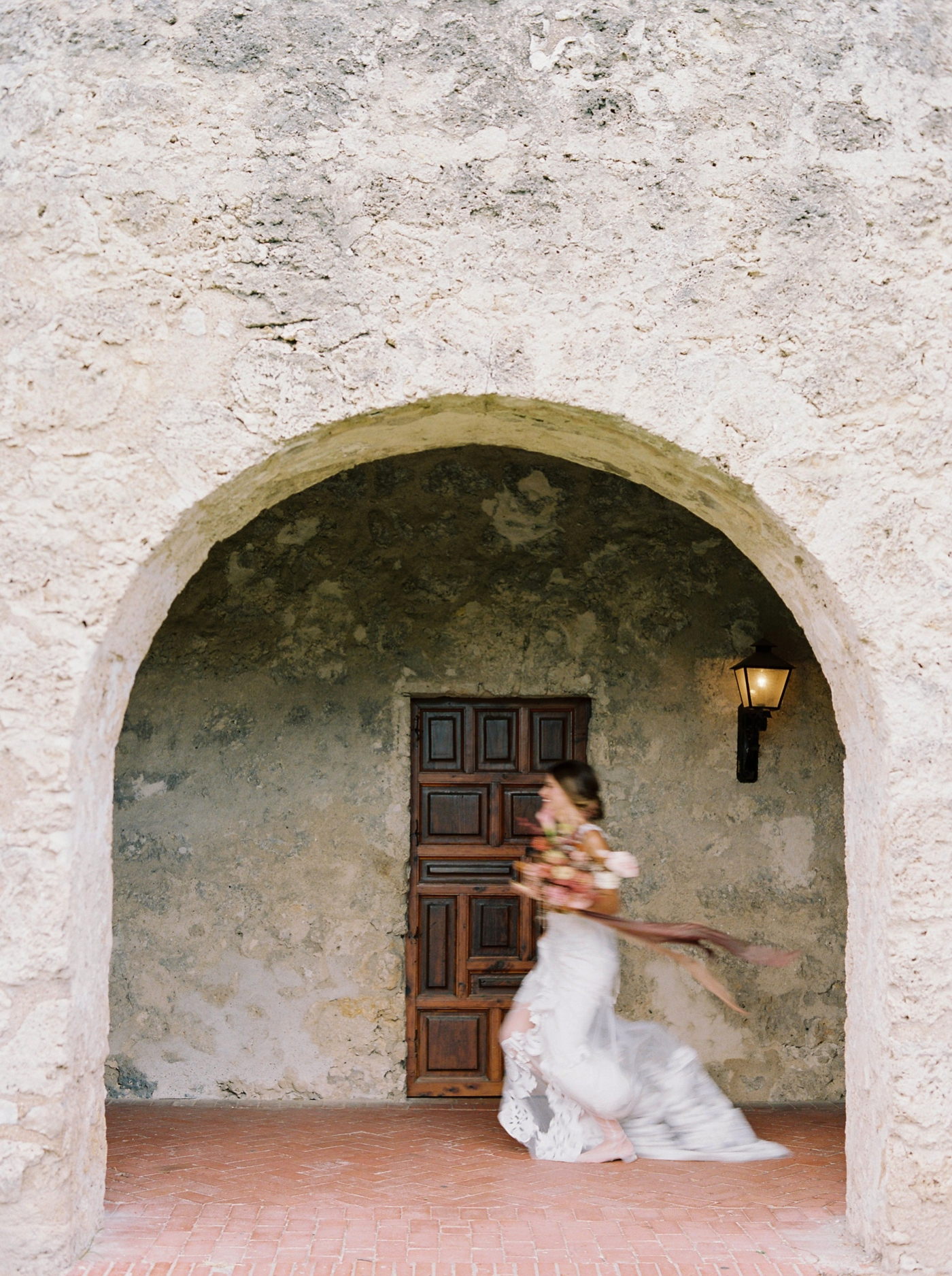 Justine milton photography   san antonio wedding photographers   fine art film photographer   destination wedding  flower arch outdoor ceremony