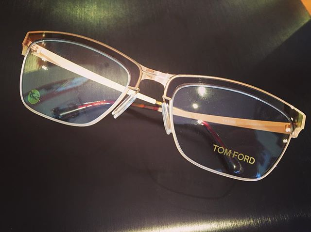 Get a free eye exam with the purchase of any Tom Ford frame! Today only!