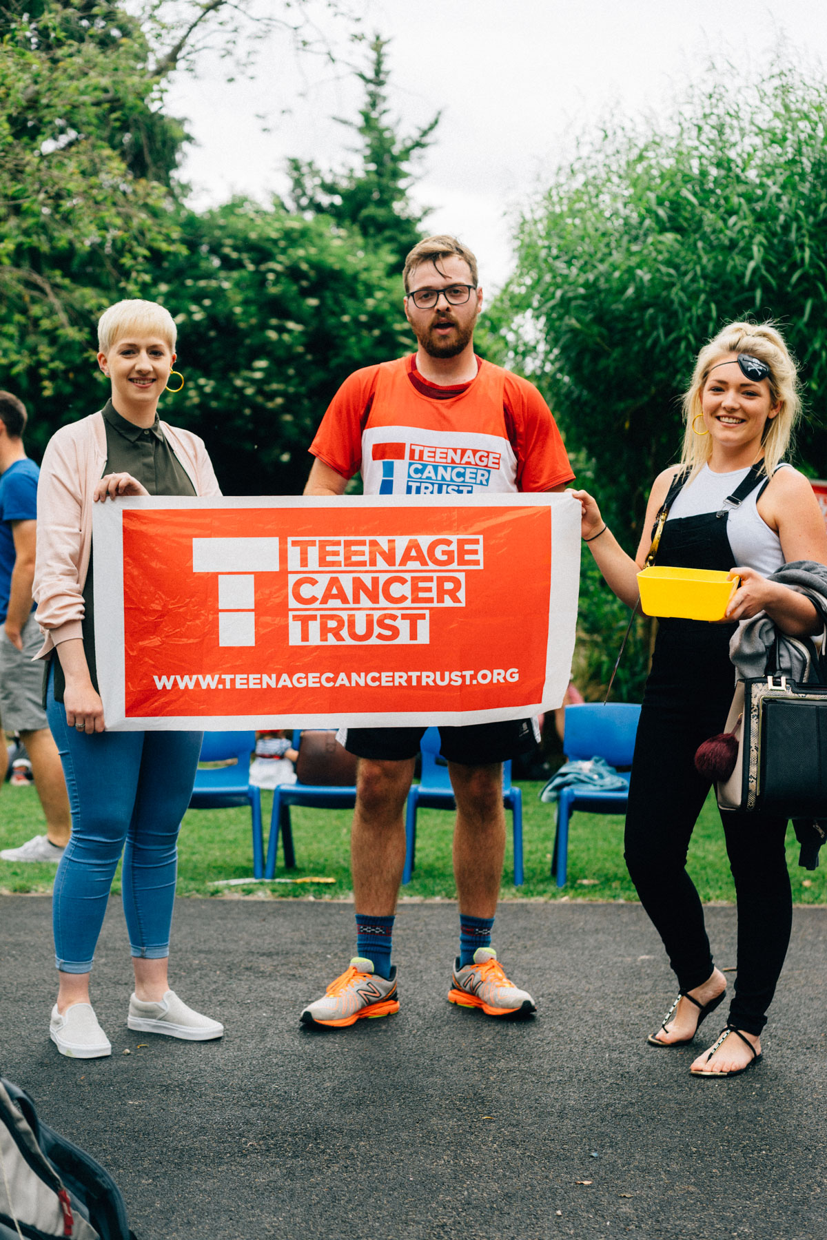 James Woodman completes his run from Brislington to Bath for the Teenage Cancer Trust.