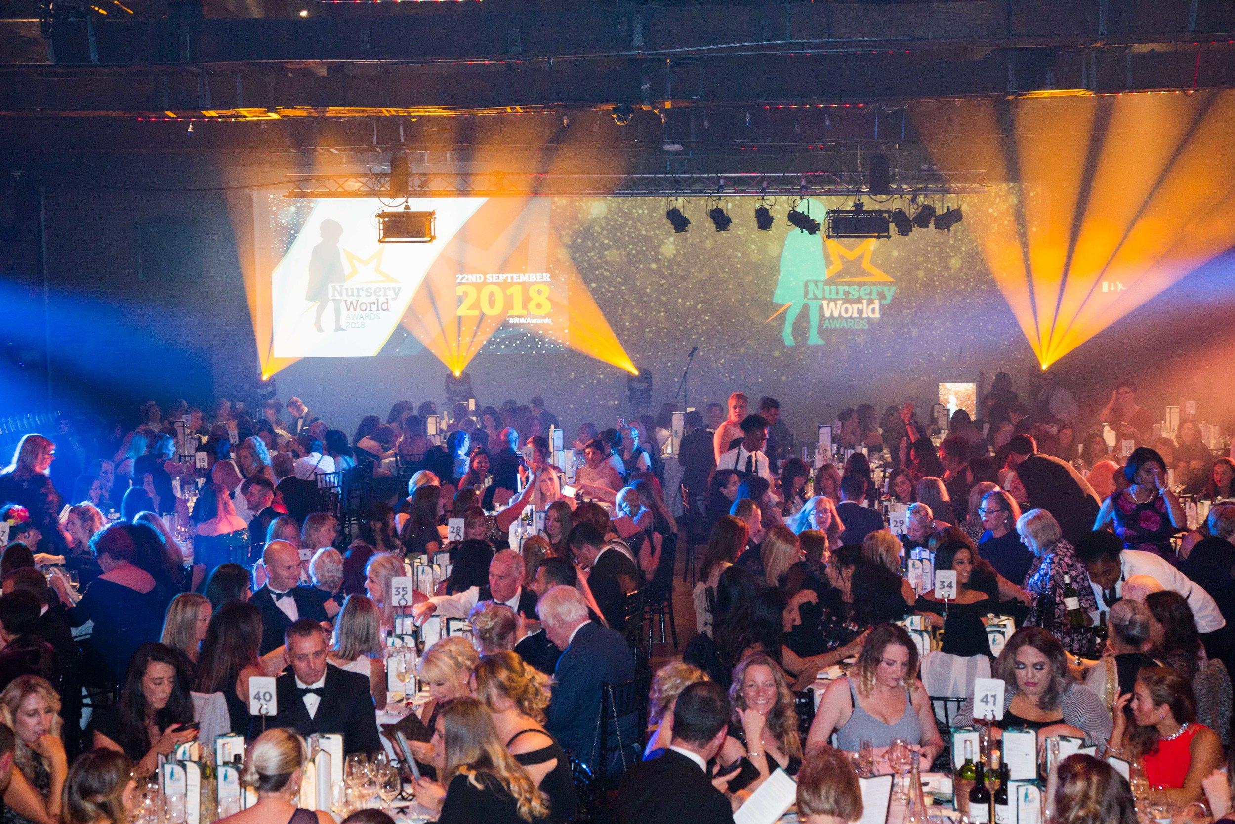 Celebrating the Nursery World Awards in London