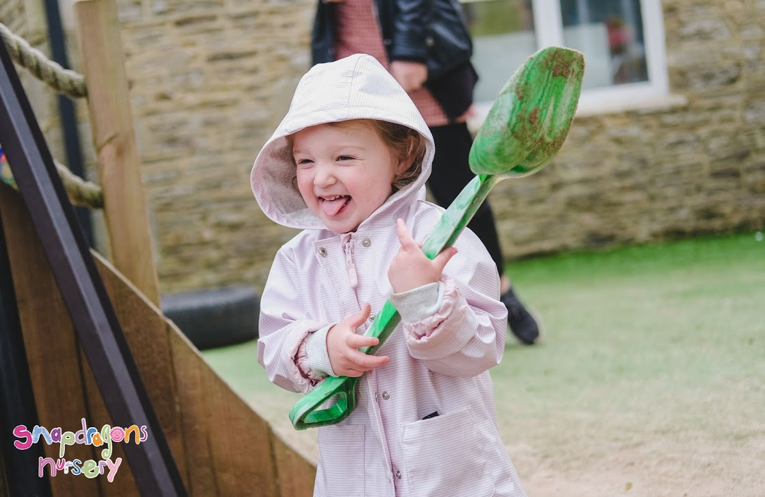 Toddlers have had great fun in the garden this month!!