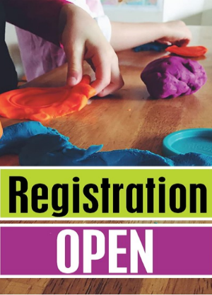 Kemble's Parent's Time Out pre-school serves ages 6 weeks to 5 years with half day (9:00 to 12:00) morning classes, Monday through Friday.  Children under 4 years old need not be potty trained to attend.  For more info., or to register,   click here