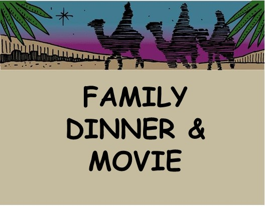 """Share the joy of the Christmas season with this family event. Everyone is welcome to join us on Tuesday, Dec. 6th, from 6 to 8 p.m. for a kid-friendly meal, a 23 minute animated film """"The Very First Noel"""", and a family carol sing.  KIDS 12 & UNDER ARE FREE, Adults $7. Proceeds benefit Kemble's free community lunch mission. Tickets   here"""
