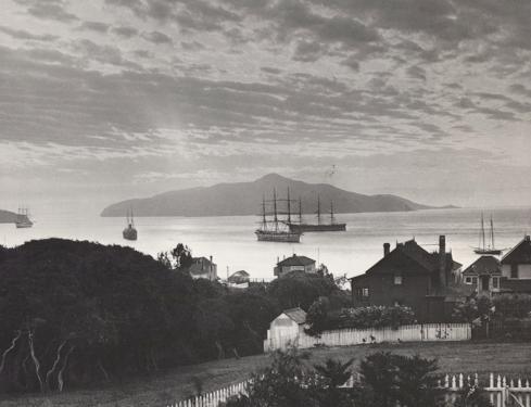 19th century Sausalito, Richardson's Bay and Angel Island - SHS Col