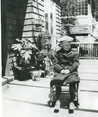 Swede Pedersen just before his jackal phase.  Courtesy of Sausalito Historical Society