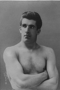 James J. Corbett, a year after his epic Sausalito boxing match.  Photo: Wikipedia public domain image