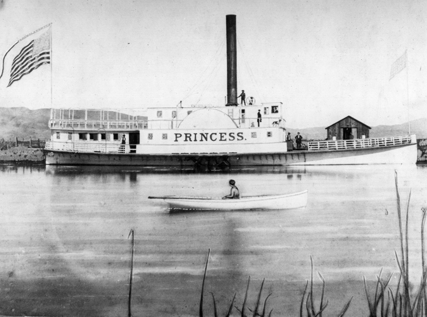The Princess was Sausalito's first regularly-scheduled ferry.