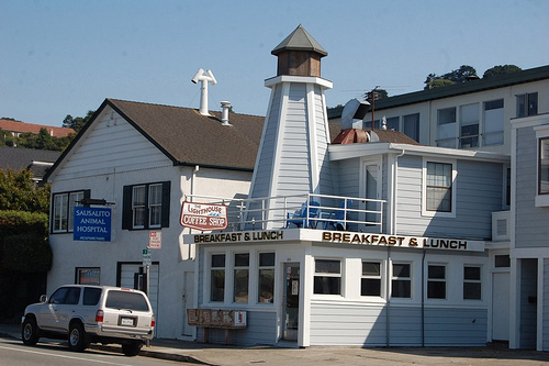 Lighthouse Cafe  Sausalito CA    Pinterest