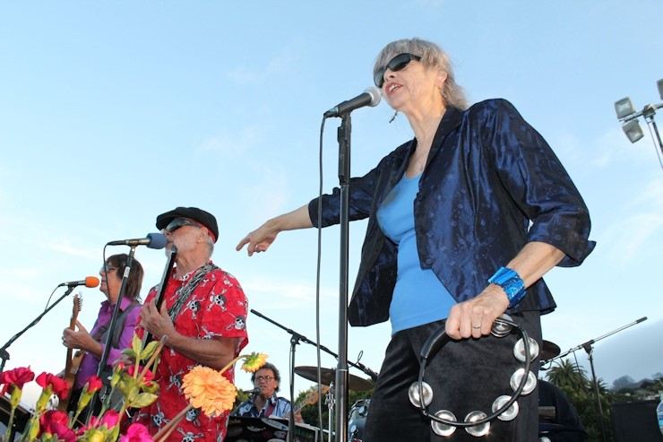 The Hippie Voices performing at a recent Jazz and Blues by the Bay event. Photo by Bruce Forrester