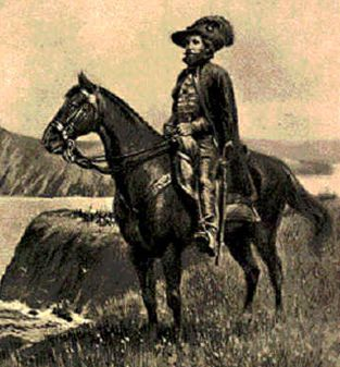 Juan Bautista de Anza on horseback Courtesy Photo