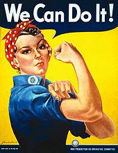 Poster girl Rosie the Riveter  Courtesy photo