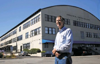Eric J Torney in Marinship Photo SF Chronicle