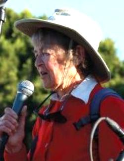 Dorothy as Grand Marshall of 4th of July Parade. Photo Sausalito Historical Society