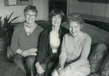 Doris Berdahl (right) with Alice Merrill and Margaret Badger