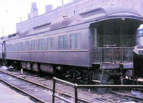 PHOTO COURTESY OF ANNE T. KENT CALIFORNIA ROOM  A Business Car similar to Hayden's Pullman No. 93 © Railfan44