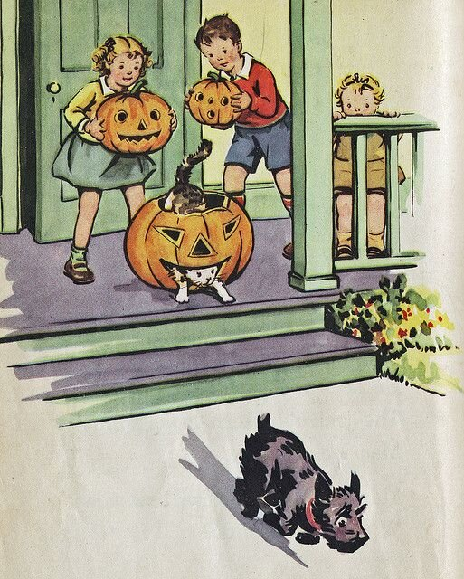 ILLUSTRATION FROM 1940S TEXTBOOK