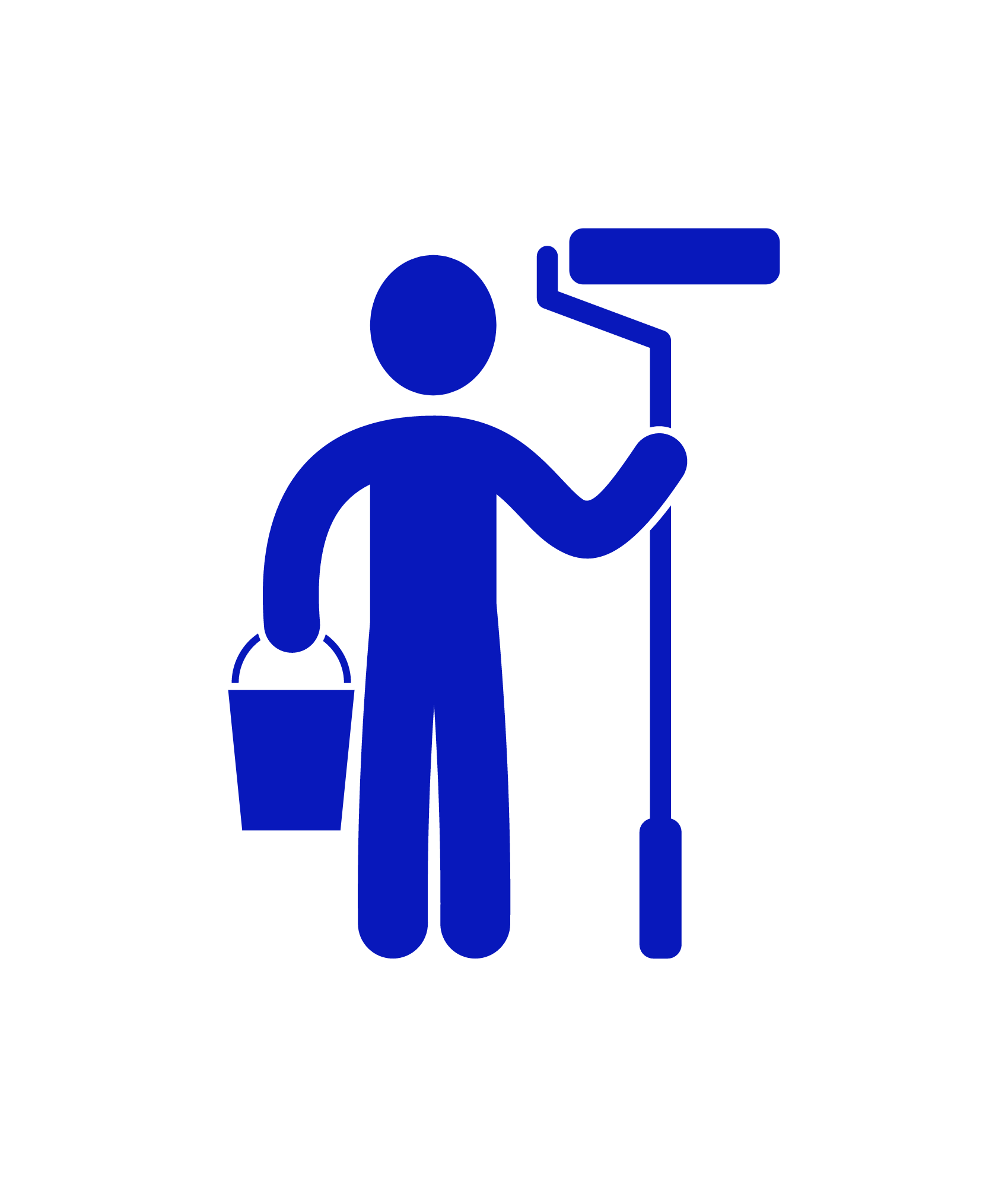 Your project has started! We'll keep your home or office clean and tidy as we work!