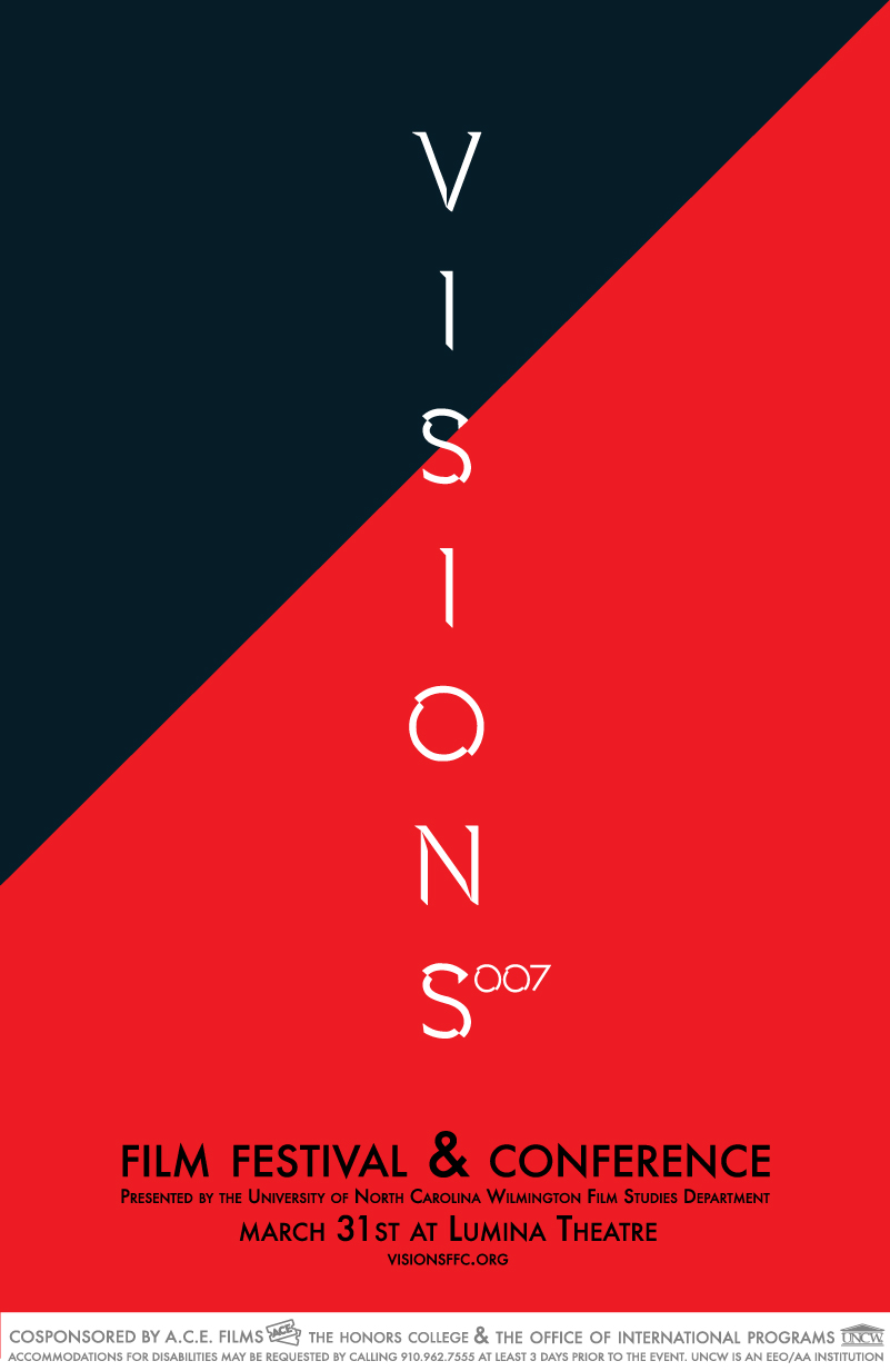 Visions 7 (2017)   Visions 7 Film Festival & Conference takes on the theme of the spy genre. Click here for 2017's list of Panelists, Films, Papers, all of the content from the festival
