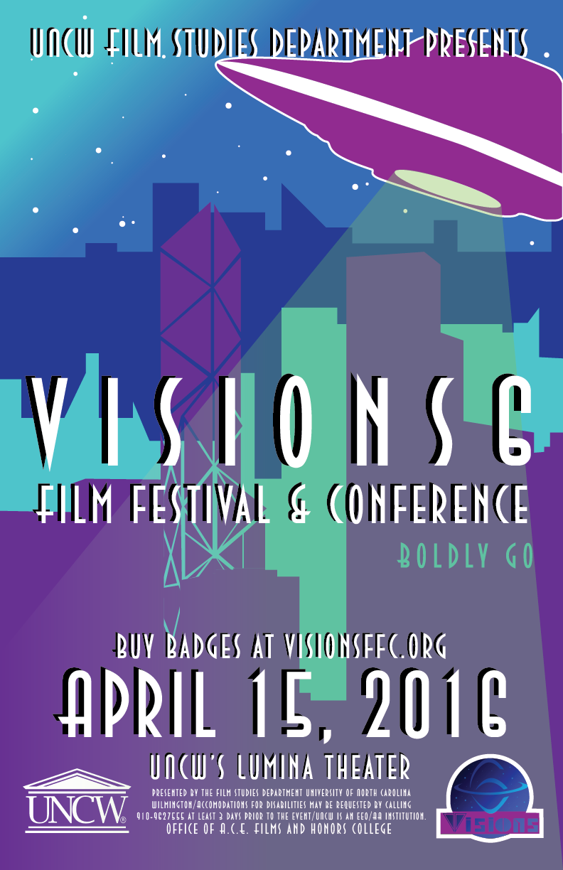 Visions 6 (2016)   Visions 6 Film Festival & Conference takes on the theme of the space. Click here for 2016's list of Panelists, Films, Papers, all of the content from the festival