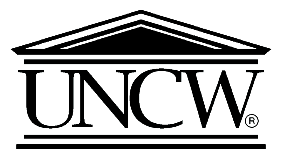 UNCW Logo Black Transparent.png
