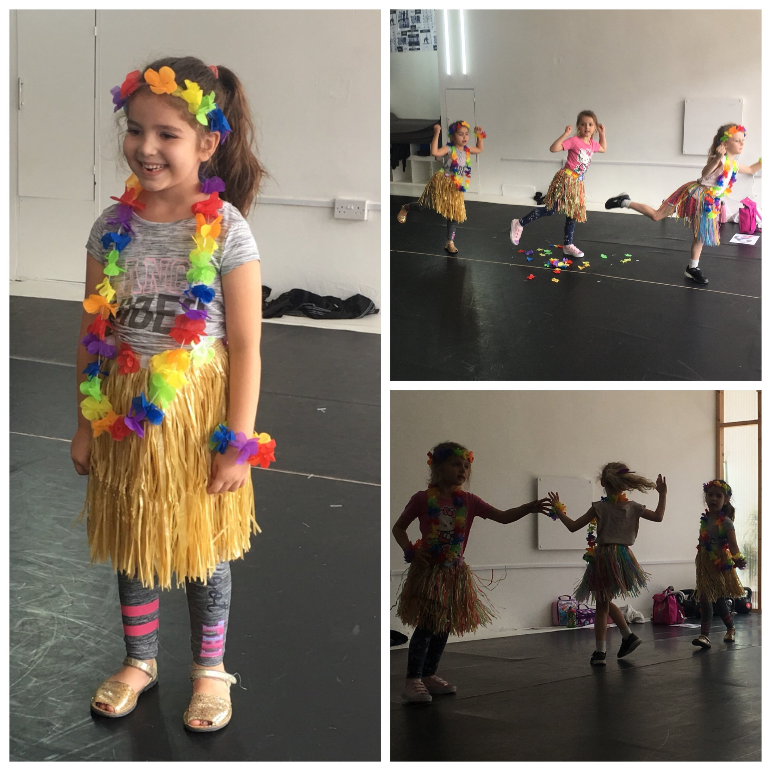 Summer Holidays 2018: Moana Workshop - A whole day filled with Moana! We danced to the soundtrack, decorated pictures of Moana, dressed up in Hawaiian Leis and even watched the film over lunch! The day culminated in a parent performance in full costume!