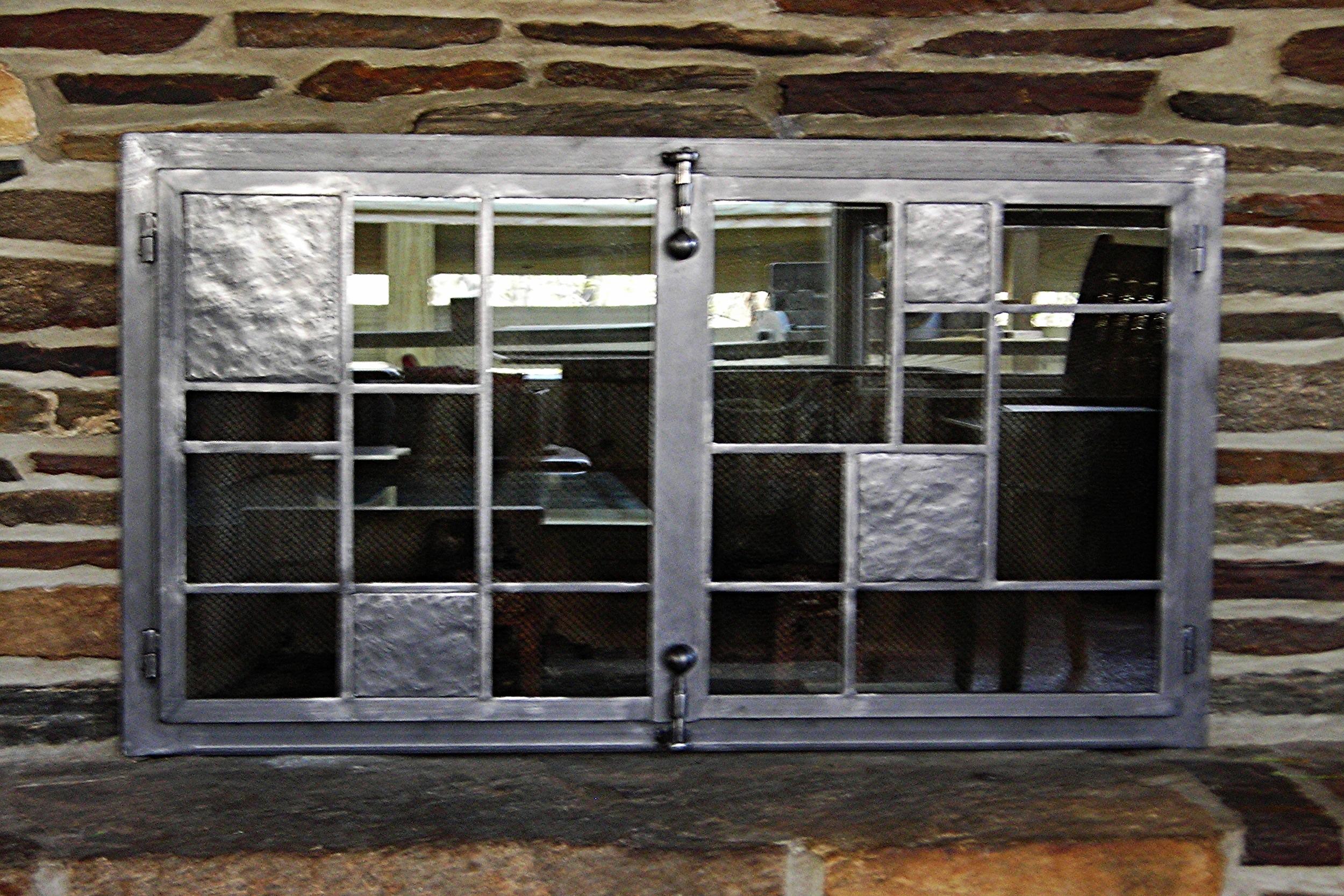 Modern Panel Firescreen