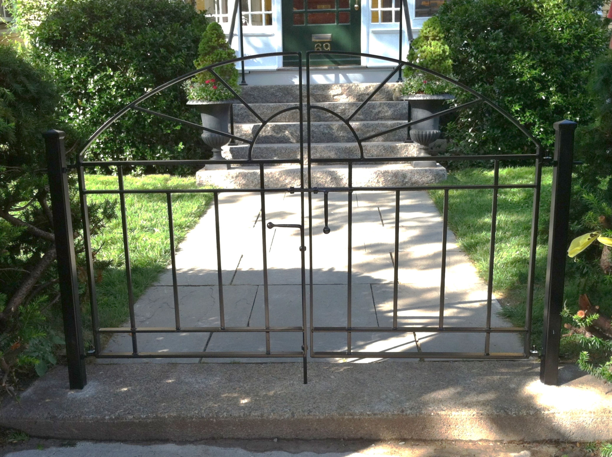 Front Walkway Double Gate