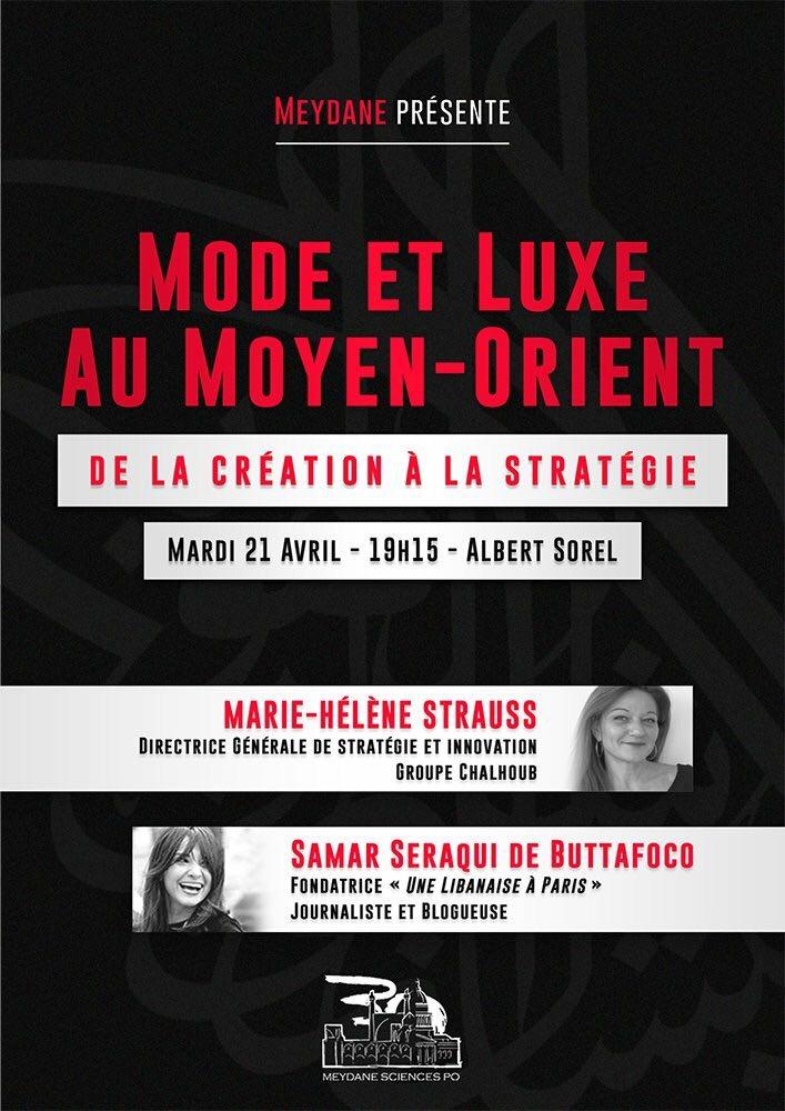 21 avril 2015    Organisée par Meydane SciencesPo