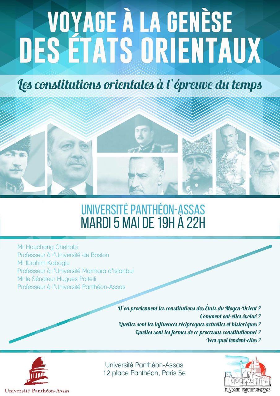 5 mai 2015    Organisée par Meydane Panthéon-Assas