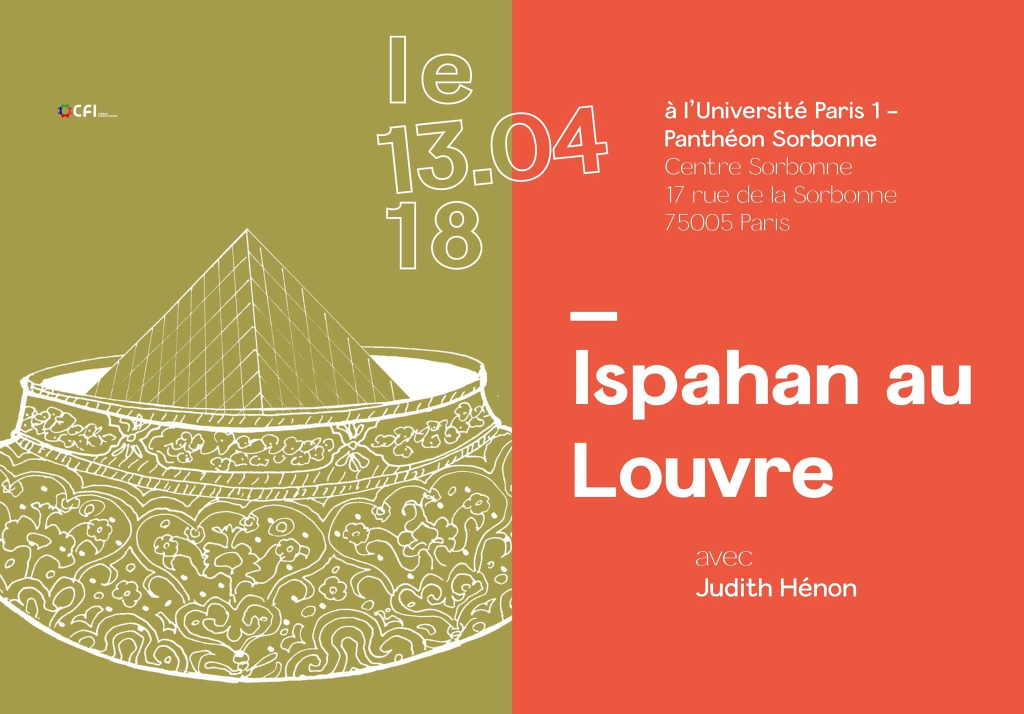 Le 13 avril 2018    Organisée par Meydane Panthéon-Sorbonne