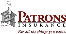 patrons insurance,  THE MAIN   STREET AMERICA GROUP, NATIONAL GRANGE MUTUAL,   MEMIC,   GREAT FALLS INSURANCE, F  OREMOST INSURANCE GROUP,   BERKLEY FINSECURE,   DAIRYLAND INSURANCE,   GEICO, GEICO INSURANCE, NATIONWIDE, PROGRESSIVE INSURANCE, STATE FARM INSURANCE, FARMERS INSURANCE, ERIE INSURANCE, ANDOVER COMPANIES, CAMBRIDGE MUTUAL, THE CONCORD GROUP INSURANCE